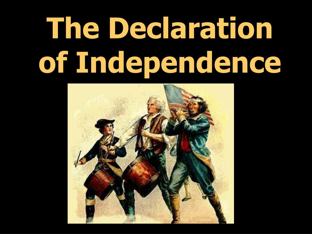 the declaration of independence l.