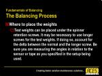 fundamentals of balancing the balancing process51