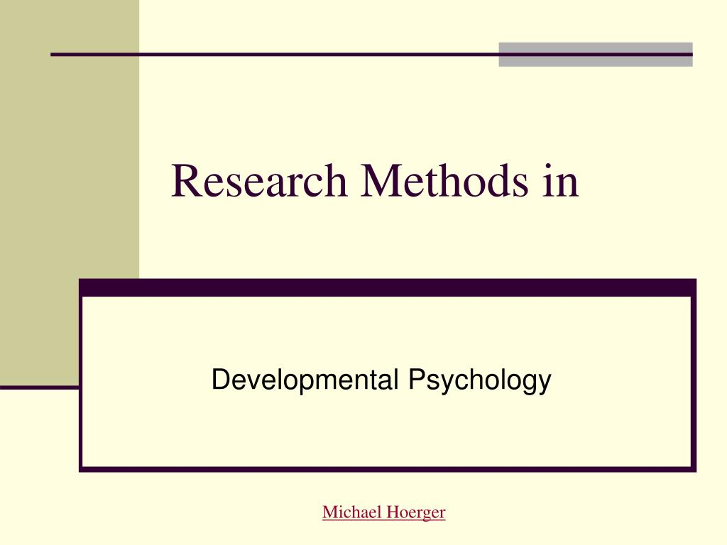 research methods in l.