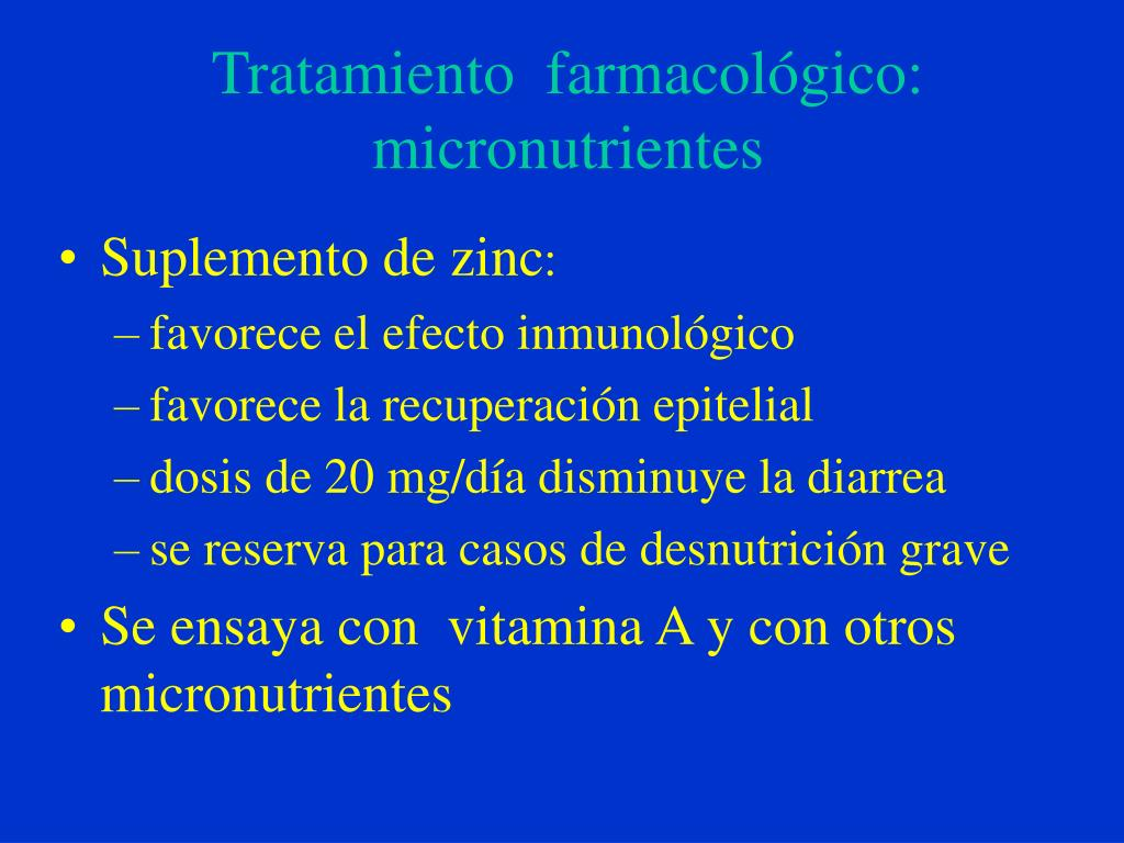 Tratamiento  farmacológico: