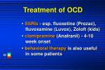 treatment of ocd