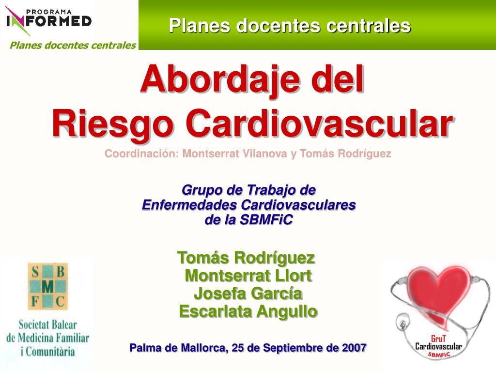 abordaje del riesgo cardiovascular l.