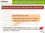 motivos de derivaci n del paciente hipertenso107