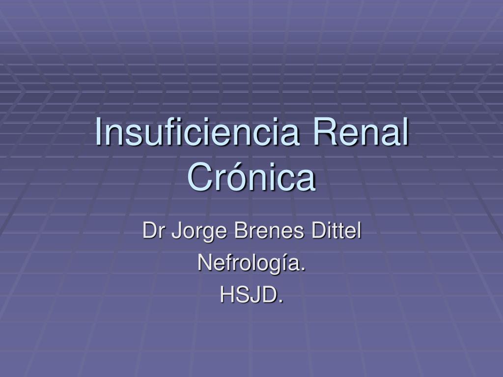 insuficiencia renal cr nica l.