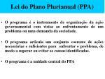 lei do plano plurianual ppa48