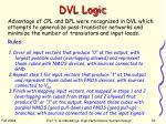 dvl logic