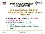 informacion exogena resoluci n 8660 10