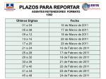 plazos para reportar agentes retenedores formato 1002