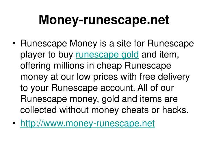 Money runescape net
