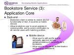 bookstore service 3 application core