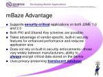 mbaze advantage23