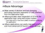 mbaze advantage26