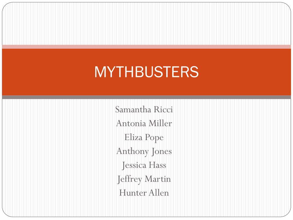 mythbusters l.