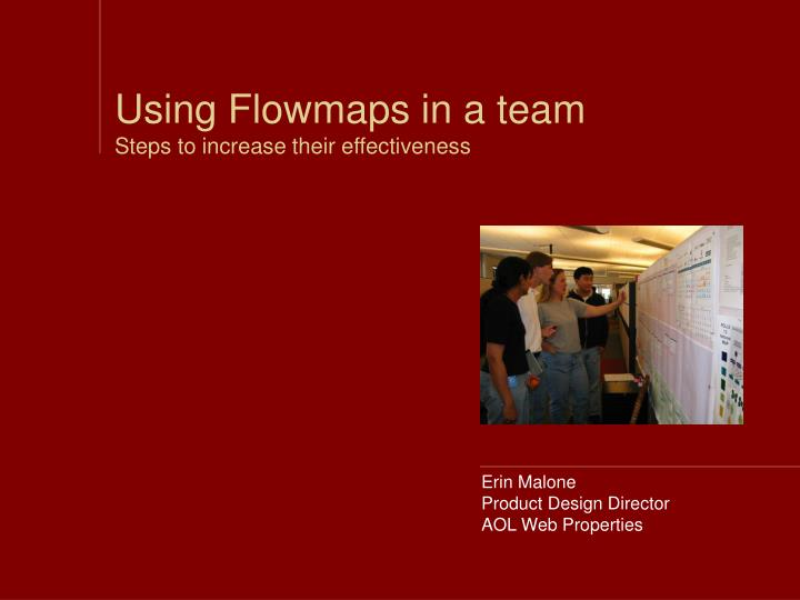 using flowmaps in a team steps to increase their effectiveness n.