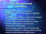 case management concepts