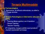 terapia multimodale