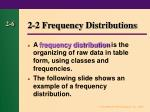 2 2 frequency distributions5