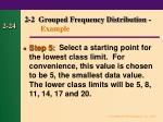 2 2 grouped frequency distribution example23