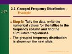 2 2 grouped frequency distribution example26