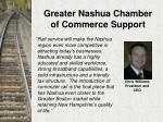 greater nashua chamber of commerce support