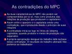as contradi es do mpc