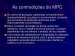 as contradi es do mpc16