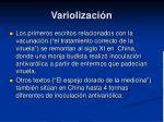variolizaci n