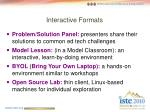 interactive formats