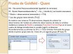 prueba de goldfeld quant