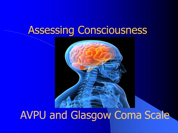 assessing consciousness n.