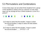 5 3 permutations and combinations31