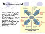 the disease model