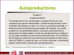 autoproductores