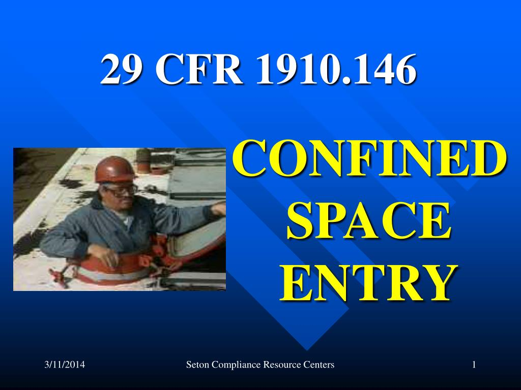 confined space entry l.