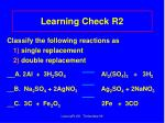 learning check r2