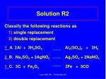 solution r2