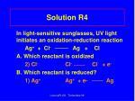 solution r4
