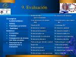 9 evaluaci n
