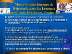 marco com n europeo de referencia para las lenguas aprendizaje ense anza evaluaci n