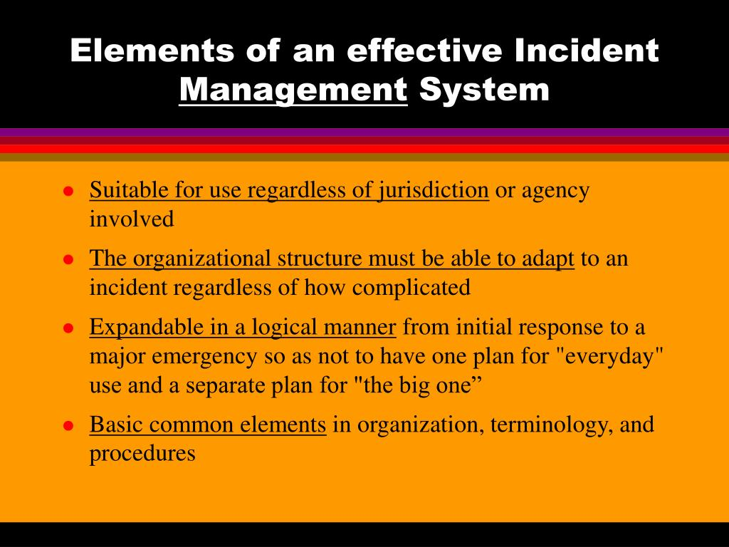 ppt - incident command system  ics  - review