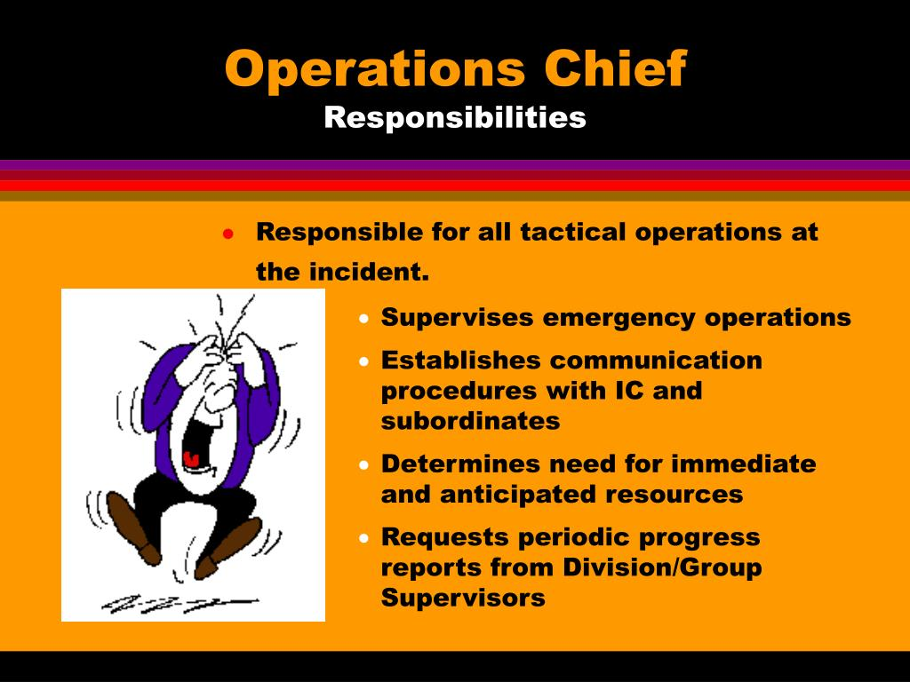 Operations Chief