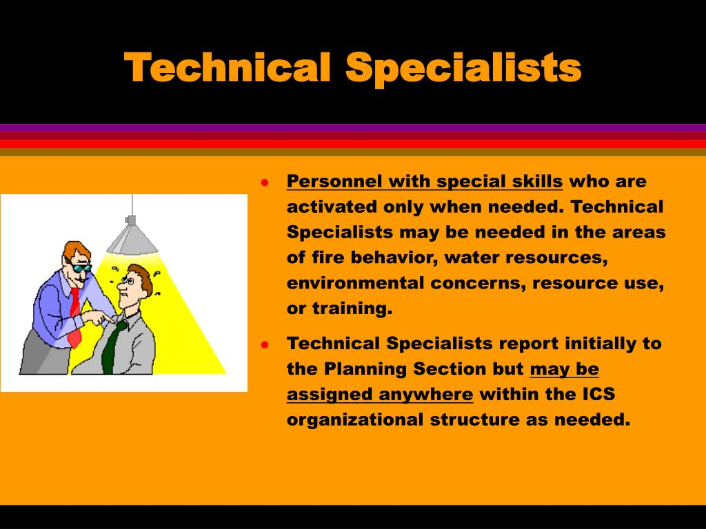 Technical Specialists