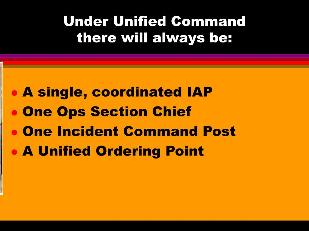 Under Unified Command