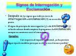 signos de interrogaci n y exclamaci n26