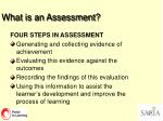 what is an assessment24