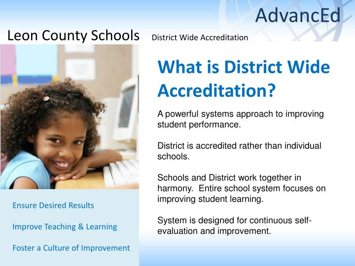 what is district wide accreditation n.