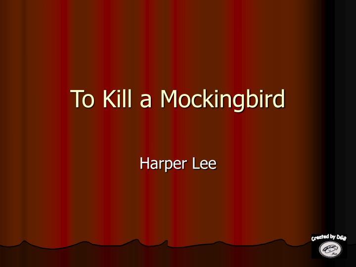 to kill a mockingbird n.