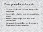 datos generales y educaci n7