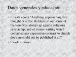 datos generales y educaci n8