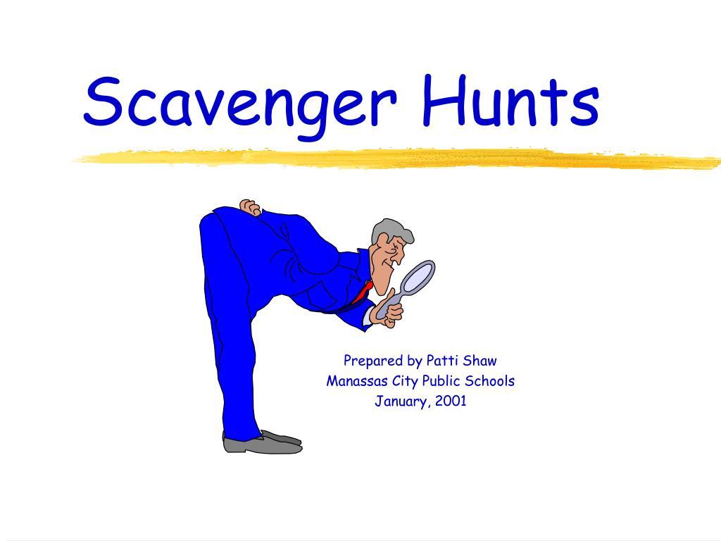 scavenger hunts l.